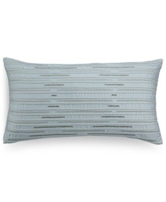 "Hotel Collection Modern Interlace 14"" x 26"" Decorative Pillow, Only at Macy's"