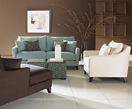 Macy*s - Furniture - Margaret Upholstered Living Room Furniture Collection :  home furniture sofa modern