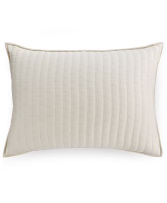 Hotel Collection Modern Eyelet Quilted King Sham, Only at Macy's