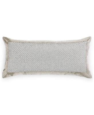 """Hotel Collection Finest Pendant Beaded 10"""" x 20"""" Decorative Pillow, Only at Macy's"""