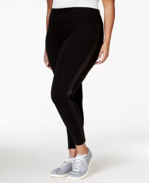 Calvin Klein Performance Plus Size High-Rise Active Leggings