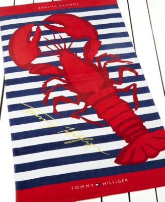 Tommy Hilfiger Atlantic Lobster Beach Towel