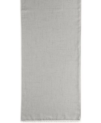 "Lenox French Perle 70"" Dove Gray Runner"