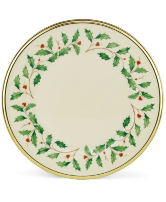 Lenox Dinnerware, Holiday Salad Plate