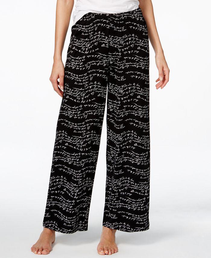Hue - Script-Print Pajama Pants