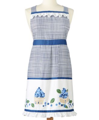 Martha Stewart Collection Blueberry Apron, Only at Macy's