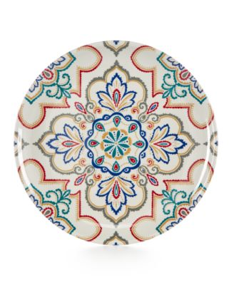 Home Design Studio La Villa Melamine Dinnerware Collection Salad Plate, Only at Macy's