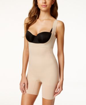 Spanx Midnight Firm Control Open-Bust Bodysuit SS5615