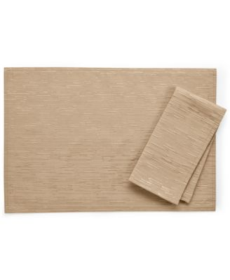 "Bardwil Continental Collection 13"" X 18"" Taupe Placemat"