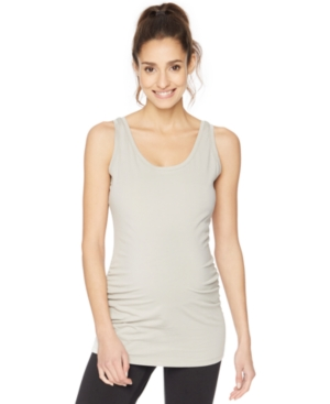 Motherhood Maternity Ruched Tank Top plus size,  plus size fashion plus size appare