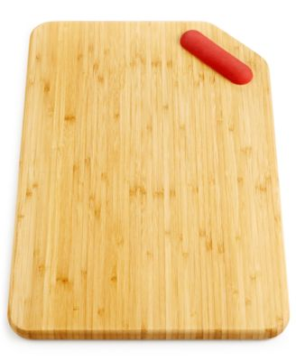 Martha Stewart Collection Bamboo Cutting Board with Blade Cleaner, Only at Macy's