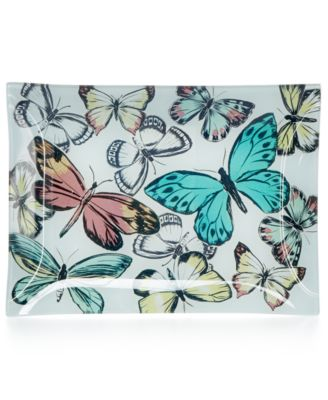 Home Design Studio Butterfly Platter, Only at Macy's