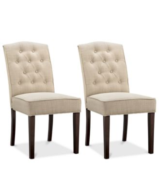 Grantley Set of 2 Dining Chairs, Direct Ships for $9.95!