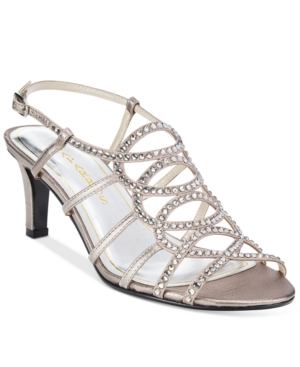 Caparros A-List Caged Slingback Evening Sandals Women's Shoes