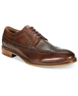 Johnston & Murphy Men's Conard Wing Tip Oxfords Men's Shoes