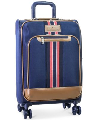 "Tommy Hilfiger Freeport 21"" Expandable Spinner Suitcase, Only at Macy's"