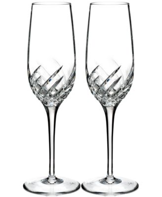 Waterford Essentially Wave Collection 2-Pc. Flutes