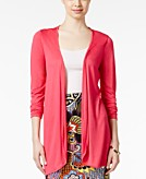 All Once Pleated-Back Draped Cardigan
