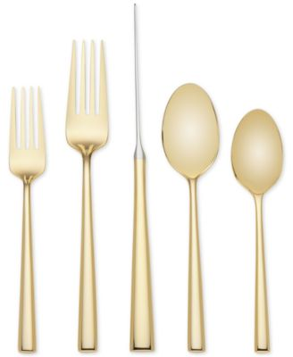 kate spade new york 5-Pc. Malmo Gold Place Setting