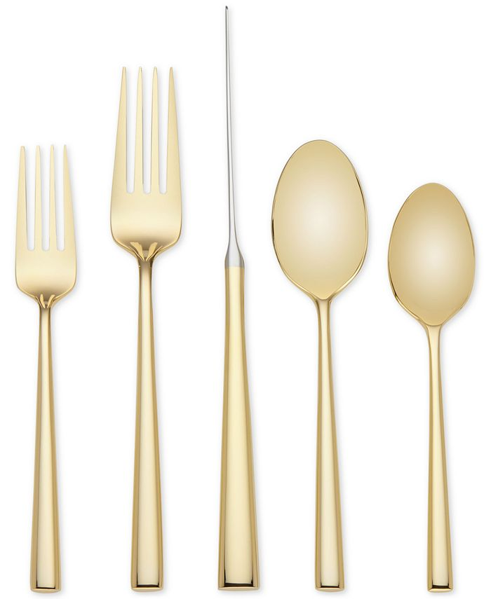 kate spade new york - 5-Pc. Malmo Gold Place Setting