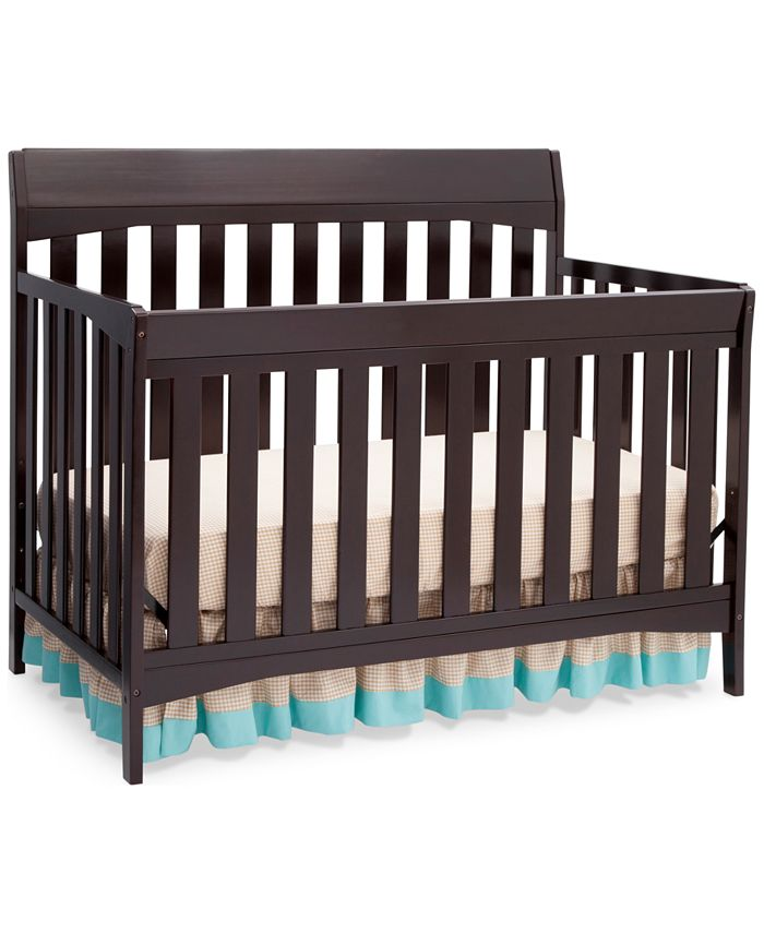 Furniture - Kyndal 4 in 1 Convertible Crib, Direct Ship