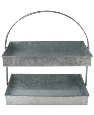 Thirstystone Galvanized 2-Tier Stand