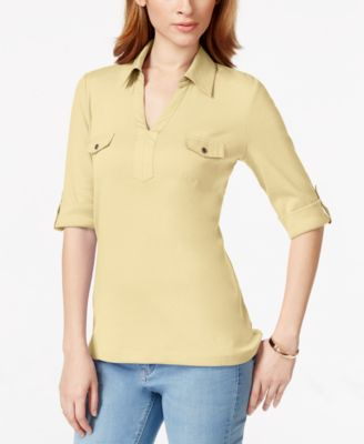 Image of Karen Scott Utility Top, Only at Macy's