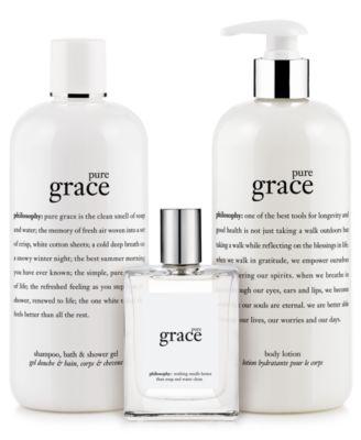 pure grace spray fragrance eau de toilette, 2 oz