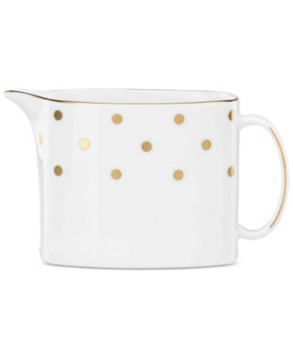 kate spade new york Larabee Road Gold Collection Bone China Creamer