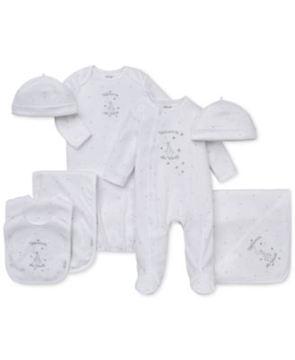 Baby Boys & Girls Welcome To The World Hat & Gown Set