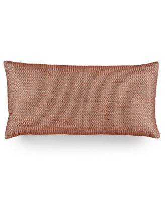 "Hotel Collection Modern Geo Stripe 12"" x 24"" Decorative Pillow, Only at Macy's"