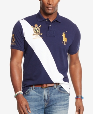 ... Shirt Short UPC 883862130852 product image for Polo Ralph Lauren Big    Tall Classic-Fit Banner- bc8c1e222fa
