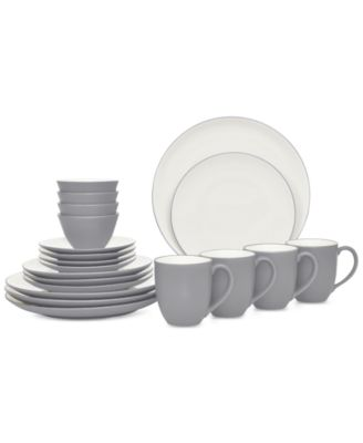 Noritake 20-Pc. Colorwave Slate Dinnerware Set