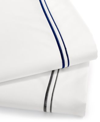 Hotel Collection 525 Thread Count Egyptian Cotton Embroidered Queen Sheet Set, Only at Macy's