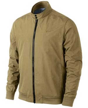 Men's Vintage Style Coats and Jackets Nike Mens Range Harrington Golf Jacket $104.99 AT vintagedancer.com