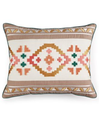Martha Stewart Collection Desert Jewel Decorative Pillow, Only at Macy's