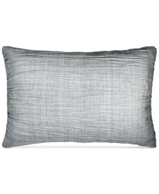 DKNY City Pleat Gray Standard Sham