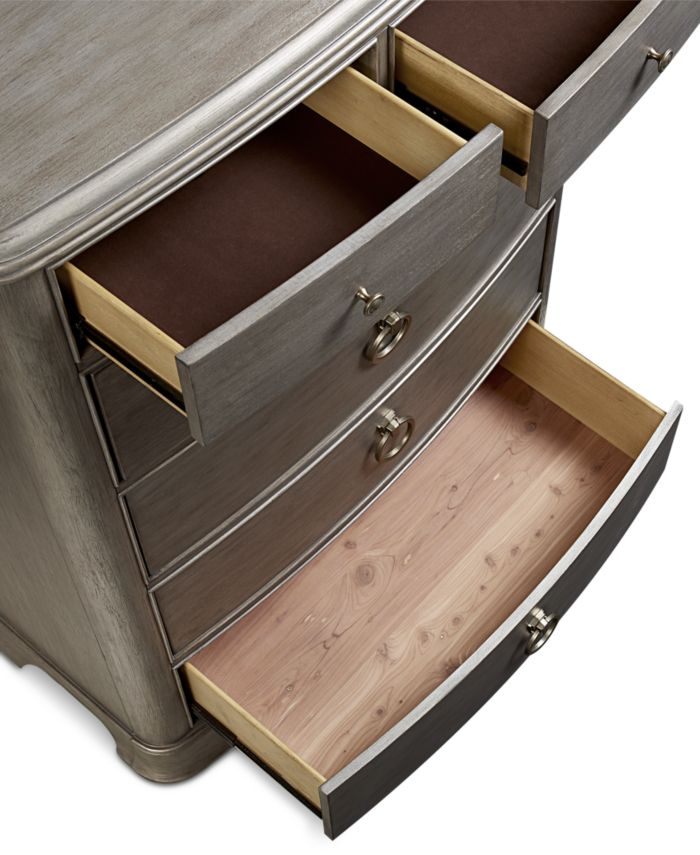 Furniture Kelly Ripa Home Hayley Bedroom 6 Drawer Chest & Reviews - Furniture - Macy's