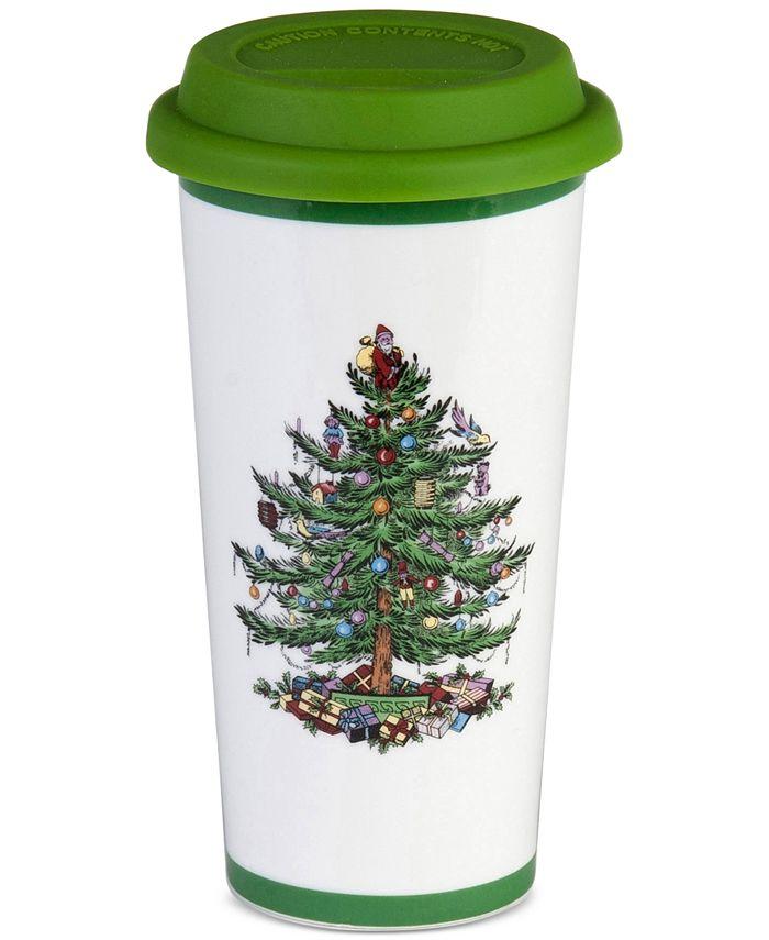 Spode - Christmas Tree Travel Mug