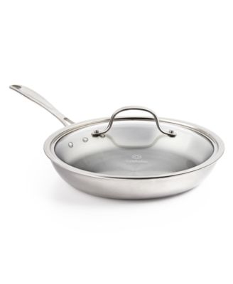 "Calphalon Tri-Ply 10"" Omelette Pan with Lid"