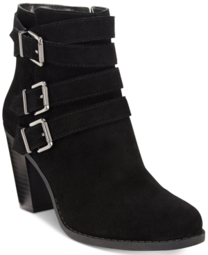 Inc International Concepts Laini Block-Heel Booties, Only at Macy's Women's Shoes