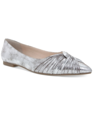 Nina Klaire Pointed-Toe Evening Flats Women's Shoes