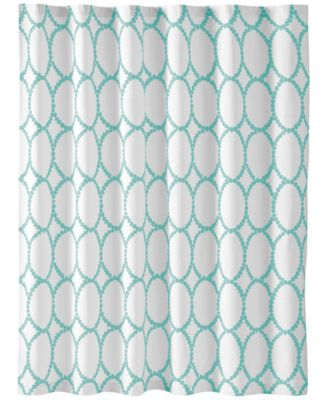 Martha Stewart Collection Mirror Mirror Shower Curtain, Only at Macy's