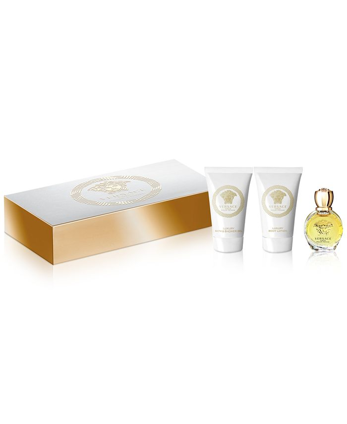 Versace - Receive a Complimentary 3-Pc. gift with any large spray purchase from the  Eros Pour Femme fragrance collection