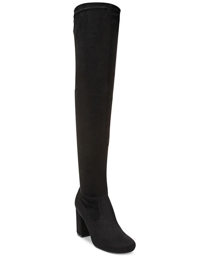 Carlos by Carlos Santana - Rumor Over-The-Knee Block-Heel Boots