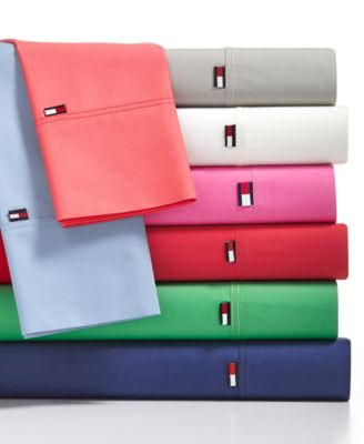 Tommy Hilfiger Solid Core King Sheet Set