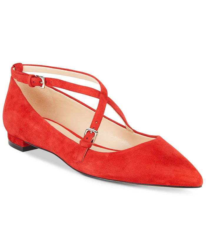 Nine West - Anastagia Strappy Pointed Flats