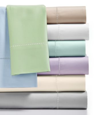 Martha Stewart Collection King Fitted Sheet, 300 Thread Count 100% Cotton, Only at Macy's