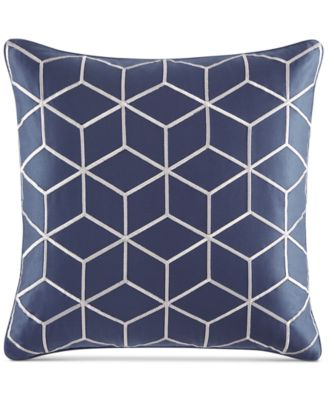 """Hotel Collection Cubist 20"""" Square Decorative Pillow, Only at Macy's"""