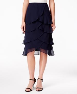 Msk Plus-Size Illusion Embellished Bell-Sleeve Dress Price ...